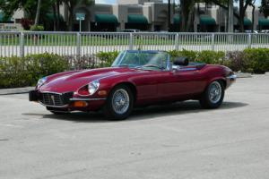 1974 Jaguar E-Type XKE V-12 SERIES III ROADSTER E-TYPE AUTO AIR WIRES