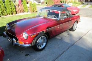 1971 MG MGB Convertible Classic Collector Roadster Photo