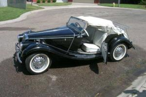 1955 MG T-Series Photo