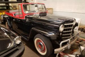 1950 Willys convertable jeepster