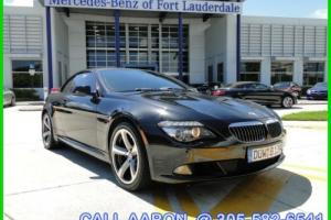 2010 BMW 6-Series WE SHIP, WE EXPORT, WE FINANCE
