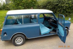 Austin Mini Countryman, Traveller, Estate 1967, Mk1 Blue Photo