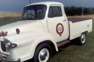 BEDFORD JO 1962 FULLY RESTORED immaculate white low miles
