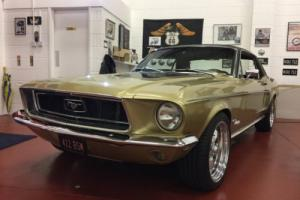 1968 Mustang Golden Nugget Special - 330ci Ford Racing motor, 4-speed AOD