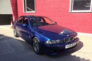 Superb Condition BMW M5 (E39) - future classic car