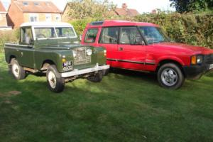 Land Rover Series 2a With Discovery Donor Vehicle