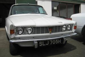 ROVER P6 2000TC   (1970) WITH ONLY 31,000 MILES FROM NEW