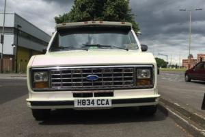 FORD ECONOLINE CUSTOM VAN.4.9 litre auto.Straight six. hydraulics.only 60k.