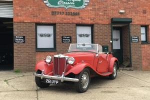 1953 MG TD2, totally original car from Beverly Hills, matching numbers