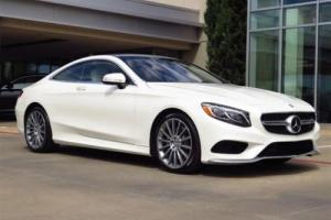 2016 Mercedes-Benz S-Class S550 Coupe
