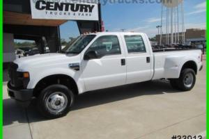 2008 Ford F-350 4X4 CREW CAB DUALLY PICKUP TRUCK WE FINANCE!