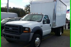 2007 Ford F-450 RC BOX TRUCK Photo