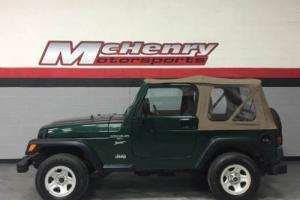 2000 Jeep Wrangler Sport 2dr 4WD SUV