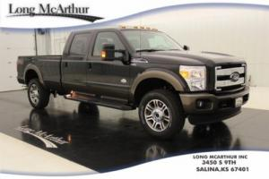 2016 Ford F-350 4X4 CREW CAB KING RANCH NAV MOONROOF MSRP $71323