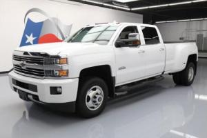 2016 Chevrolet Silverado 3500 4X4 HIGH COUNTRY DIESEL