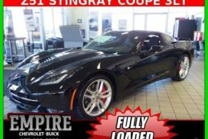 2016 Chevrolet Corvette 2dr Stingray Z51 Cpe w/3LT 8 Speed Paddle Shift