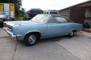 Amc rambler rebel sst 1968 rhd barn find