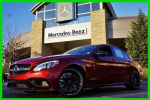 2017 Mercedes-Benz C-Class 2017 Mercedes-Benz C63S AMG