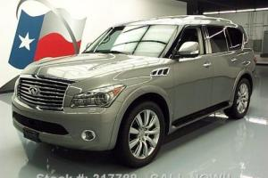 2012 Infiniti QX56 4X4 DELUXE TOURING TECH SUNROOF NAV!