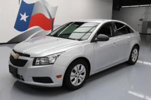 2012 Chevrolet Cruze AUTOMATIC CD AUDIO SILVER ICE