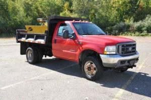 2002 Ford F-450 XL 4X4 Mason Dump 7.3L Powerstroke ONLY 50K WOW!