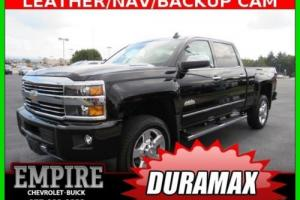 2016 Chevrolet Silverado 2500 4WD Crew Cab 167.7 High Country Leather Black