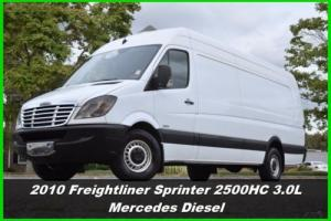 2010 Freightliner Sprinter 2500 High Roof Sprinter Van