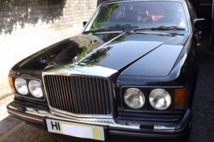 1990H BENTLEY MULSANNE S, BLACK, RED LEATHER Photo