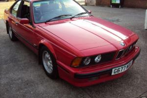 BMW 635 CSI (A) HI LINE M Sport henna red  black leather