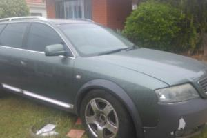 Audi Allroad Quattro (2003) 4D Wagon auto (2.7L - Twin Turbo MPFI) 5 Seats