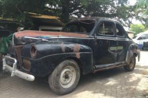 1941 Ford Deluxe Coupe Hot Rod Rat Rod Logo Patina Project