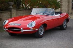 JAGUAR E TYPE 4.2 SERIES ONE ROADSTER 1966 LHD