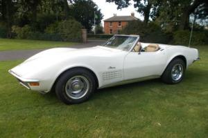 CHEVROLET CORVETTE 1970 MANUAL 2-TOP CONVERTIBLE WITH UNBELIEVABLE HISTORY. Photo