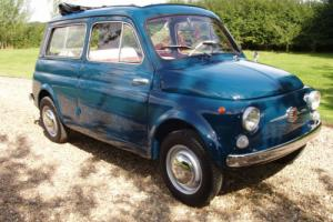 Fiat  500 -Giardinare-Full nut and bolt restoration -Rare Photo