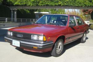 1983 Audi 5000 Turbo Turbo 5000 Photo