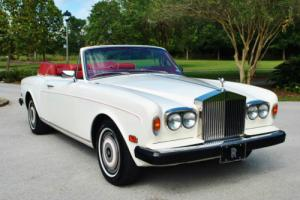 1981 Rolls-Royce Corniche Convertible 26,743 Miles serviced Photo