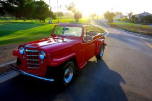 1951 Willys Jeepster  Jeepster Rare Restomod