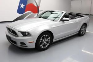 2014 Ford Mustang PREM CONVERTIBLE V6 AUTO LEATHER
