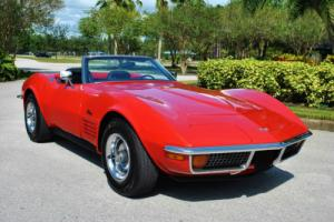 1972 Chevrolet Corvette Convertible Numbers Matching 350 4-Speed Restored!