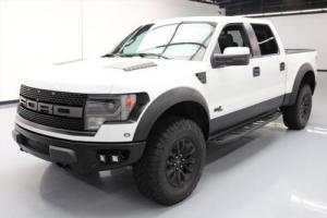 2013 Ford F-150 SVT RAPTOR CREW 4X4 6.2L SUNROOF NAV