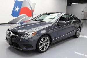 2014 Mercedes-Benz E-Class E350 COUPE P1 PANO SUNROOF NAV Photo