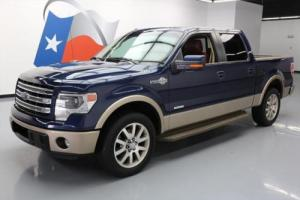 2013 Ford F-150 KING RANCH CREW ECOBOOST SUNROOF NAV