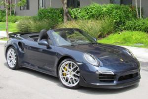 2016 Porsche 911 2dr Cabriolet Turbo S Photo
