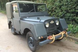 Land Rover Series 1 80 Minerva Left Hand Drive
