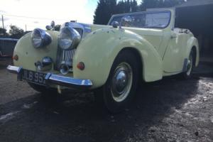 Triumph Roadster Restoration Project for Sale