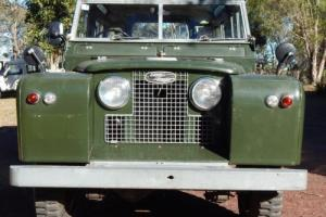 1961 Landrover Series SWB seven seater tropical roof