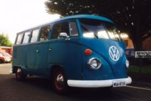 VW Splitscreen LHD Westfalia  MOTed
