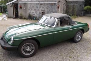 mgb roadster 1975 free delivery uk mainland/tax exempt