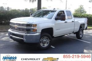 "2016 Chevrolet Silverado 2500 4WD Double Cab 144.2"" Work Truck Photo"