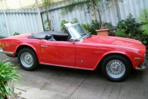Triumph TR 6 (1973) 2D Sports Manual (2.5L - Fuel Injected) Seats Photo